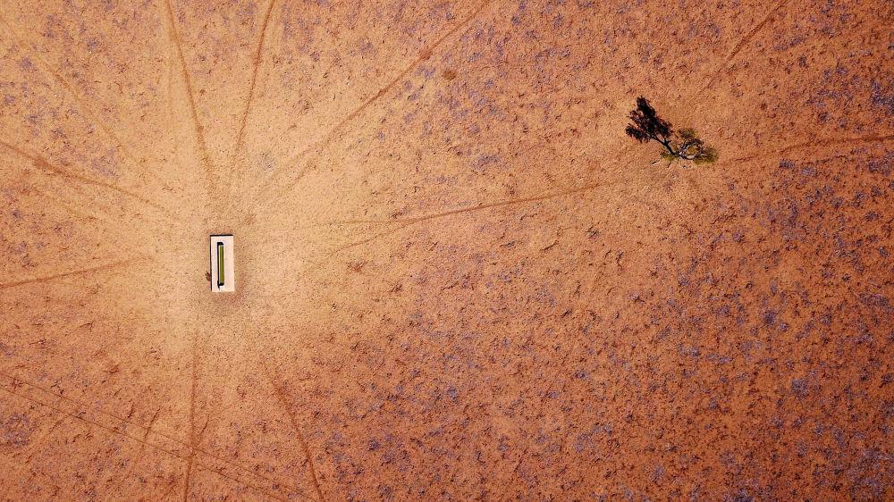 Засуха на окраине города Уолджетт (Австралия)