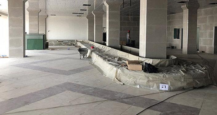 Строительство зоны местного прилета в аэропорту Манас