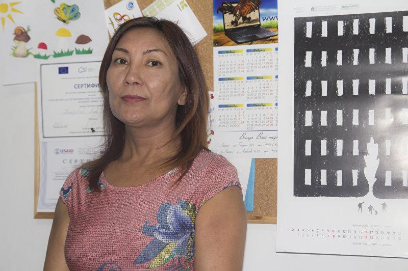 Директор Центра помощи детям, пострадавшим от насилия и жестокого обращения Бэлла Капарова