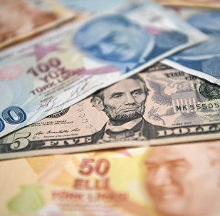 Падение курса лиры в Турции