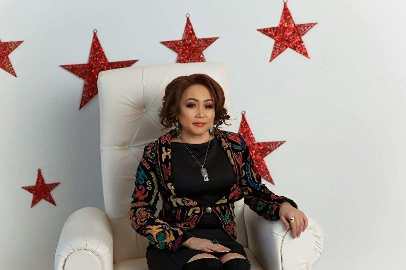 Певица отечественной эстрады Алина Жетигенова