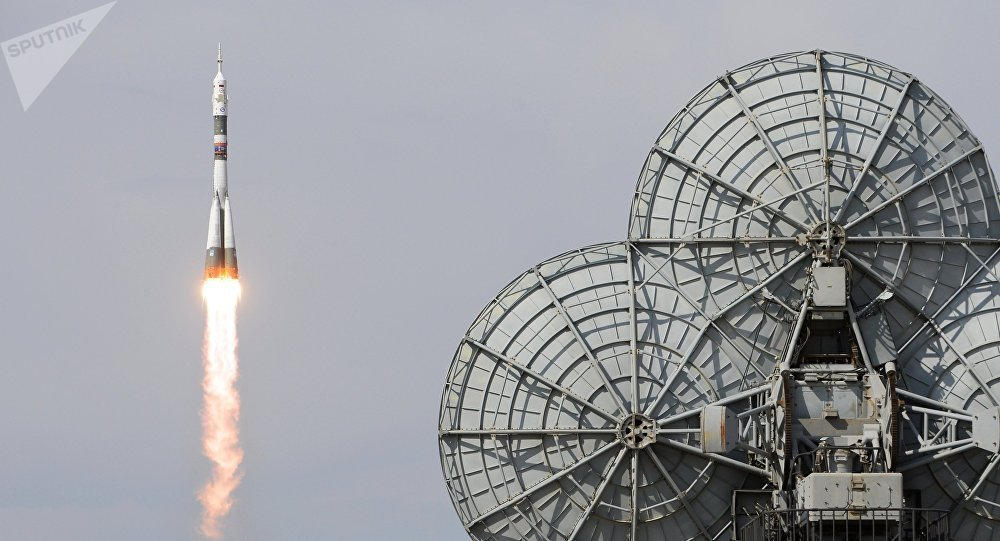 Пуск ракеты-носителя с космодрома Байконур. Архивное фото