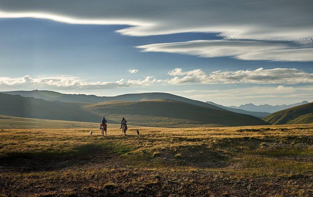 Природа Кыргызстана глазами путешественника из Северной Ирландии Ричарда Ватсона