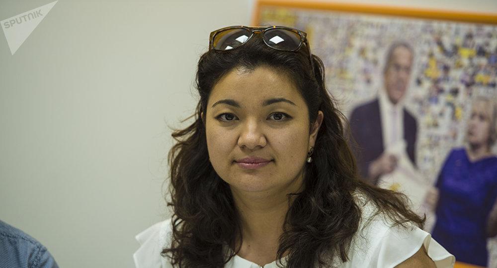 Начальник отдела по работе с жертвами бытового насилия Федеральной ассоциации Германии по борьбе с насилием на бытовой почве Жайна Рабинкий-Джаналиева