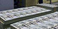 Изготовление долларов США. Архивное фото