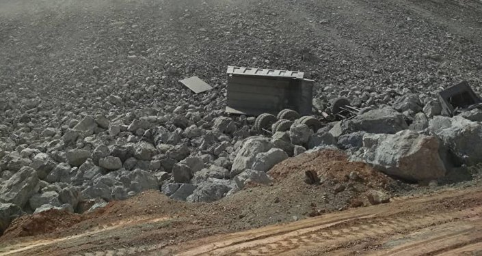 ДТП с фурой в Алайском районе