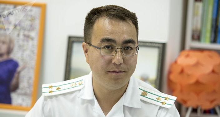 Мамлекеттик салык кызматынын маалыматтык камсыздоо бөлүмүнүн башчысы Эркин Сазыков