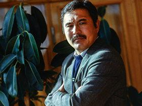 Народный артист Кыргызской Республики, актер Дуйшенбек Байдоботов