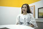 Кыргыздардын коду долбоорунун автору Жылдыз Мамытова. Архив