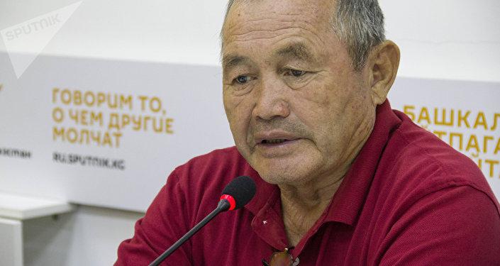 Эксперт в области энергетики Сапарбек Аргымбаев. Архивное фото