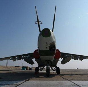 Самолет Су-25СМ. Архивное фото