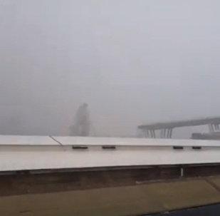 Момент обрушения моста в Италии попал на видео