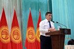 Президент Сооронбай Жээнбеков Кочкор-Ата шаарынын тургундары менен жолукту