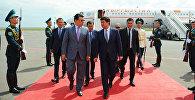 Премьер-министр Мухаммедкалый Абылгазиев 16-августта иш сапары менен Казакстанга келди