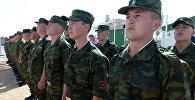 Военнослужащие пограничной службы Кыргызской Республики. Архивное фото