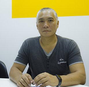 Проректор по научной работе и внешним связям Кыргызской государственной академии физической культуры и спорта Канат Мамбеталиев