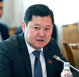 Архивное фото назначенного первым заместителем руководителя аппарата президента Кыргызстана Алмаза Кененбаева