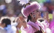 Концерт в честь праздника Нооруз на площади Ала-Тоо в Бишкеке. Архивное фото
