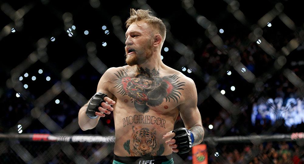 UFC уюмунун жеңил салмактагы мурдагы чемпиону Конор Макгрегор. Архив