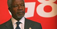Бириккен Улуттар Уюмунун мурунку башкы катчысы Кофи Аннандын архивдик сүрөтү