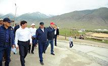 Рабочая поездка премьер-министра Мухаммедкалыя Абылгазиева в Иссык-Кульскую область /