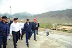 Премьер-министр Мухаммедкалый Абылгазиев Дүйнөлүк көчмөндөрдүн III оюндары турган Кырчын жайлоосуна барды.
