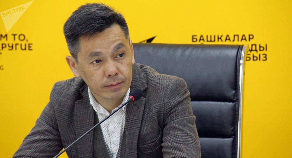 Вице-мэр Бишкека Эркинбек. Архивное фото