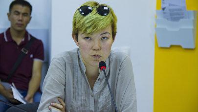 Психолог Айканыш Эралиева. Архивное фото