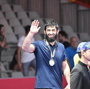 Кыргызстанец Магомед Мусаев завоевал серебро в соревнованиях по вольной борьбе на Азиатских играх в Джакарте