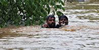 Последствия мощных муссонных ливней в Индии. Архивное фото