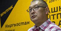 Исполнительный директор ОО Тосор Коому Тыныбек Жукешов