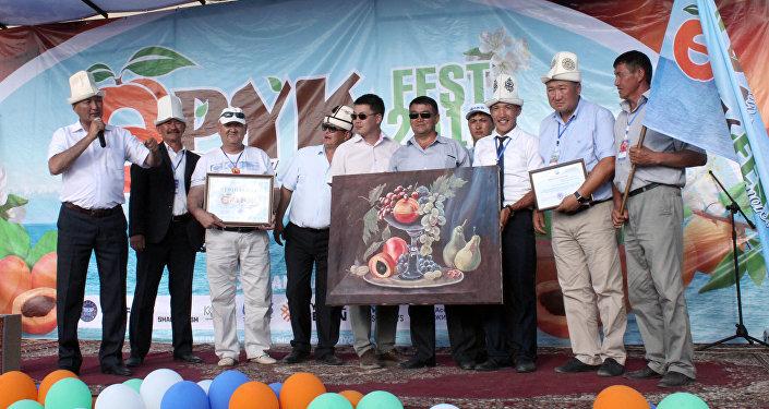 Фестиваль Өрүк фест в Джети-Огузе