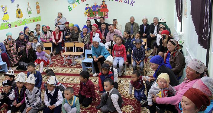 Новый детский сад в Тосоре