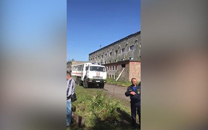 При обрушении завода на Сахалине погибли кыргызстанцы — видео с места трагедии