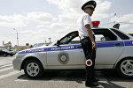 Сотрудники полиции города Грозный. Архивное фото