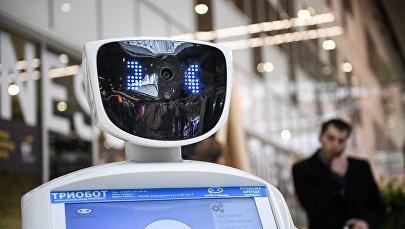 Информационный робот Promobot. Архивное фото