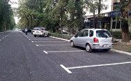 Дорожная разметка на проспекте Эркиндик нанесена неправильно и будет изменена