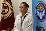 Айсулуу Тыныбекова Азиадада алтынга жетпей калышынын себебин түшүндүрдү. Видео