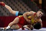 Борец греко-римского стиля из Кыргызстана Амантур Исмаилов (весовая категория до 67 кг) завоевал бронзовую медаль Азиатских игр в Индонезии