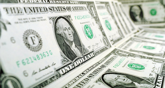 Банкноты номиналом 1 доллар США. Архивное фото