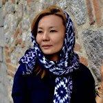 Журналист Айнагуль Сапарбек кызы