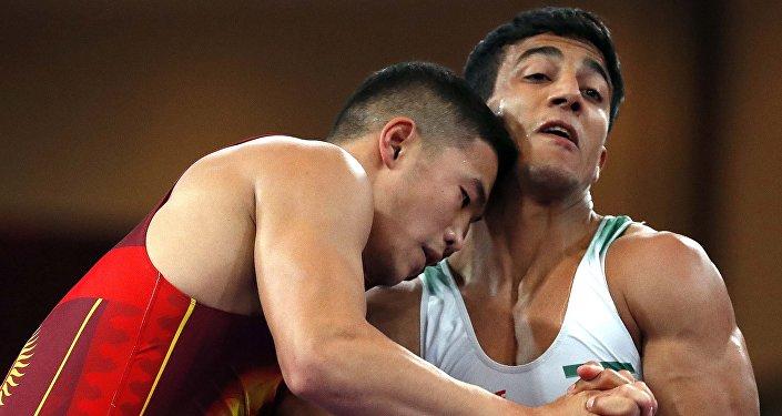 Азиатские игры 2018. Греко-римская борьба до 77 кг. Финал
