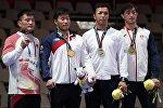 Азия оюндарында кыргызстандык Үзүр Жусупбеков грек-рим күрөшүнөн коло медаль утту