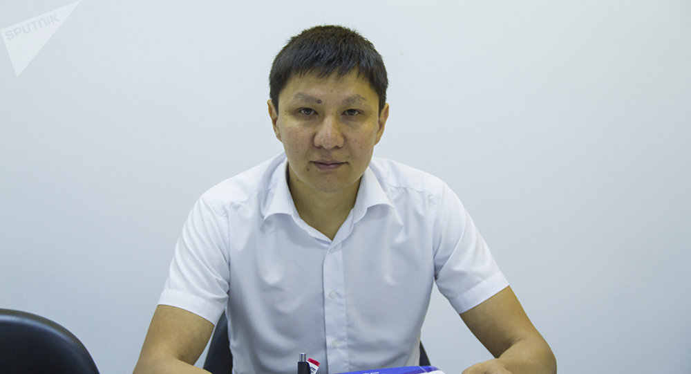 Начальник отдела мониторинга и прогнозирования МЧС КР Даурбек Сакыев
