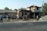 Пожар в мечети в Ошской области