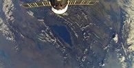 Тоо арасындагы бермет! Космонавттын Ысык-Көлгө суктанган видеосу