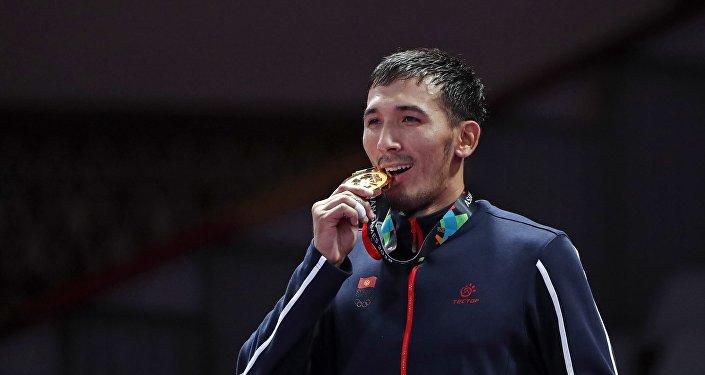 Азиатские игры 2018. Джиу-джитсу до 69 кг. Награждение