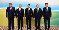 Борбор Азия республиканын президенттери. Архивдик сүрөт