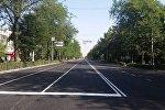 Чыңгыз Айтматов атындагы проспекти оңдоп-түзөө иштеринен кийин толугу менен ачылды.