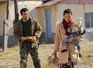 Кыргыз-өзбек киночулары биргелешип тарткан Делбирим тасмасынан кадр
